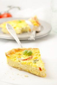 Caprese Quiche - (Free Recipe below)