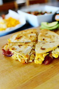 Breakfast Quesadillas - (Free Recipe below)