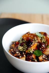 Harvest Fall Salad - ( Free Recipe below)