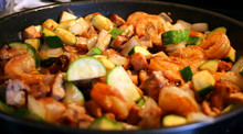 Hibachi Chicken and Shrimp - (Free Recipe below)