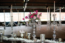 Moulin Crystal Candelabra 28""