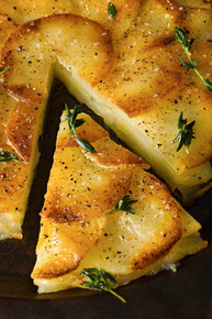 Crisp Potato Cake  - (Free Recipe below)