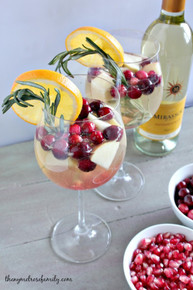Holiday Sangria - (Free Recipe below)