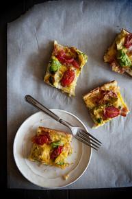 Avocado Breakfast Casserole - (Free Recipe below)