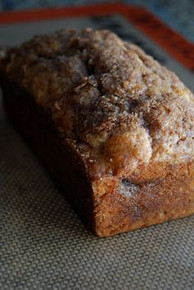 Cinnamon Swirl Banana Bread w/ recipe below