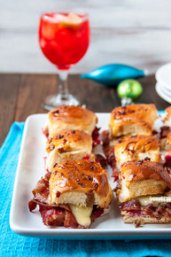 Bacon, Brie and Cranberry Sliders - (Free Recipe below)
