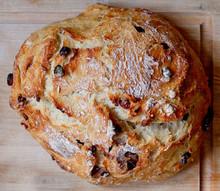 Rustic Cranberry Orange Bread - one loaf w/ recipe below