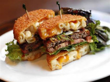 Mac Attack Burger - (Free Recipe below)