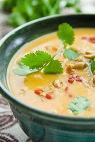 Sweet Potato and Peanut Soup - (Free Recipe below)