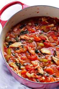 TOMATO BASIL CHICKEN STEW - (Free Recipe below)
