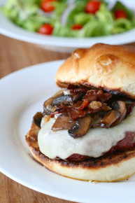 Marsala Burgers - (Free Recipe below)