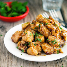 Caramelized Black Pepper Chicken - (Free Recipe below)