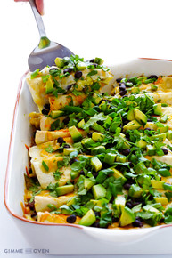 BREAKFAST ENCHILADAS - (Free Recipe below)