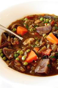 Hearty Vegetarian Vegetable Stew - (Free Recipe below)
