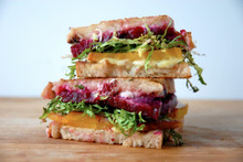 Beet Frisee Grilled Cheese Sandwich - (Free Recipe below)