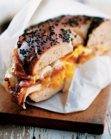 Bacon, Egg and Cheese Sandwich- New York Style - (Free Recipe below)