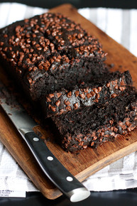 Double Chocolate Banana Bread w/ recipe below