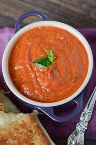 Creamy Tomato Soup - (Free Recipe below)