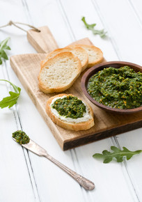 Arugula Pistachio Pesto - (Free Recipe below)