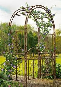 Iron Montebello Garden Arbor