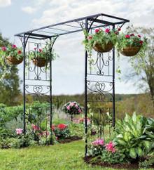 Grand Iron Garden Arbor - perfect for a wedding!