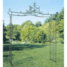 Dallen Wrought Iron Garden Arbor