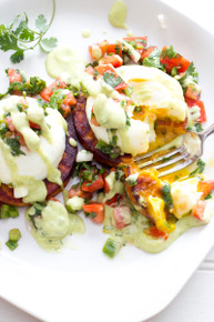 BAJA EGGS BENEDICT - (Free Recipe below)