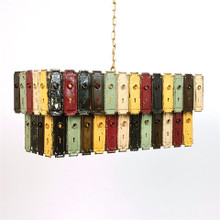 Grand Double Key Plates Light Chandelier