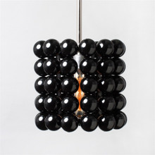 Black Pool Ball Light Pendant