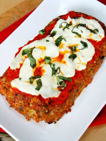 Chicken Parmesan Meatloaf - (Free Recipe below)