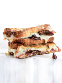 Brown Sugar Pecans and Sweet Bacon with Havarti Grilled Cheese - (Free Recipe below)