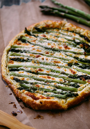 Asparagus And Goat Cheese Omelet For Two Recipes — Dishmaps