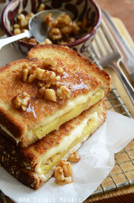 Caramelized Pineapple Grilled Cheese - (Free Recipe below)