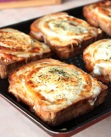 BAKED HAM & CHEESE SANDWICHES - (Free Recipe below)