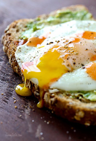 Avocado Toast with Sunny Side Egg - (Free Recipe below)