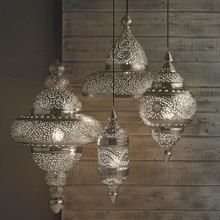 Moroccan Hanging Lanterns - set as follows