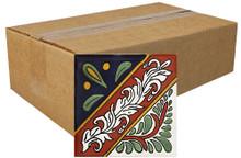 """Talavera Tile - TIL052 - Box of 40 -  6"""" x 6"""""""