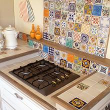 "Italian Ceramic Tiles  4"" x 4"" - many sizes available / custom designs"