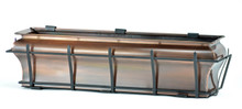 "Copper Ogee Window Box Planter 30"""