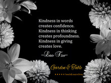 Kindness in Giving #Quotes
