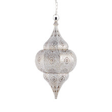 "Moroccan Large Hanging Lantern 34.5"" - other sizes & set available"