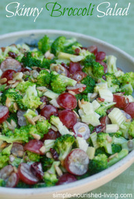 SKINNY BROCCOLI SALAD - per pound