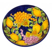 Sorrento Lemons & Delicious Fruits Large Serving Bowl