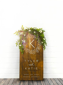 Custom Wedding Sign - many options