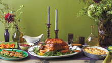 Thanksgiving Tablescape Table setting Ideas w/ recipes for a feast!!