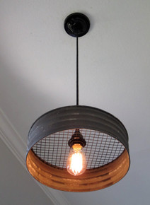 Lighting Metal Sifter Pendant