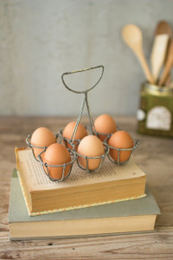 WIRE SIX EGG HOLDER