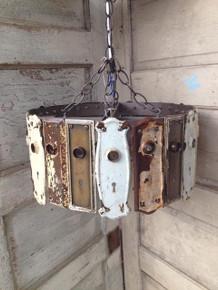 Antique Key Plate Pendant Light Chandelier