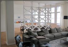 """Circles 16"" Extra Large Hanging Room Divider"