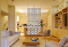 """Diamonds 8""  Hanging Room Divider"